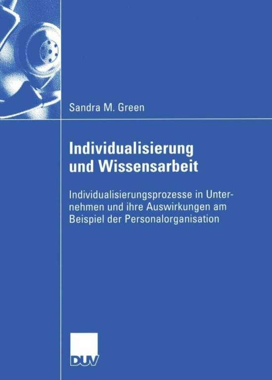 Individualisierung und Wissensarbeit