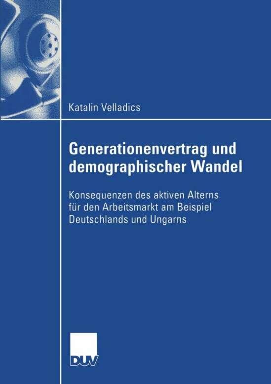 Generationenvertrag und demographischer Wandel