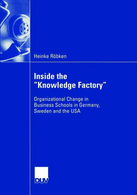 """Inside the """"Knowledge Factory"""""""