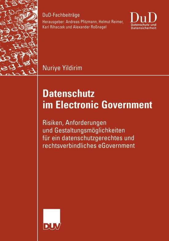 Datenschutz im Electronic Government