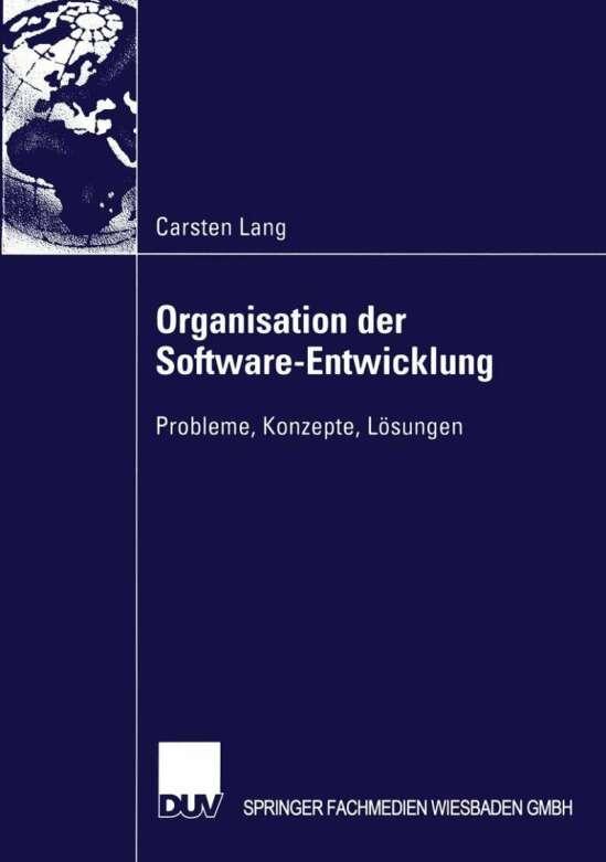 Organisation der Software-Entwicklung