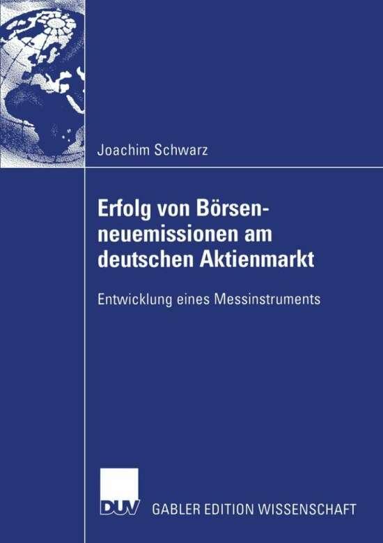 Erfolg von Börsenneuemissionen am deutschen Aktienmarkt