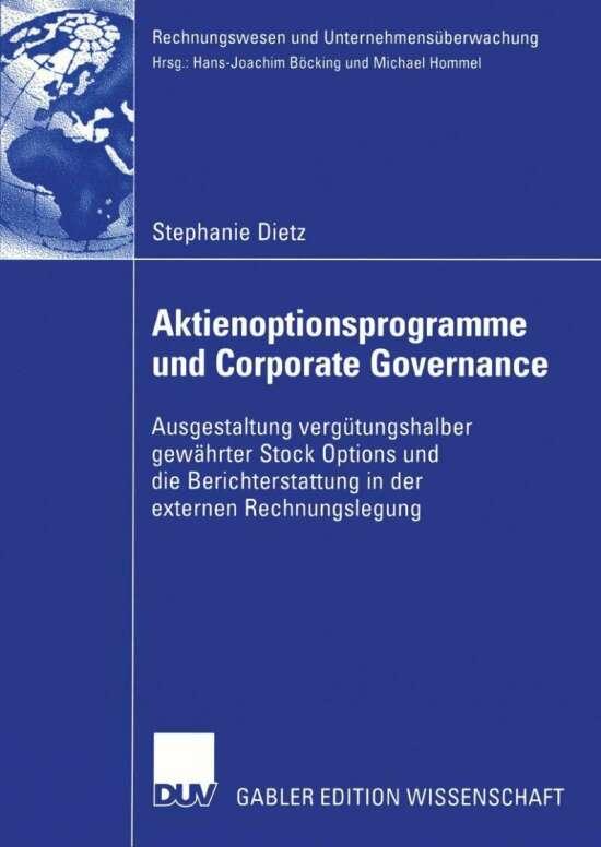 Aktienoptionsprogramme und Corporate Governance