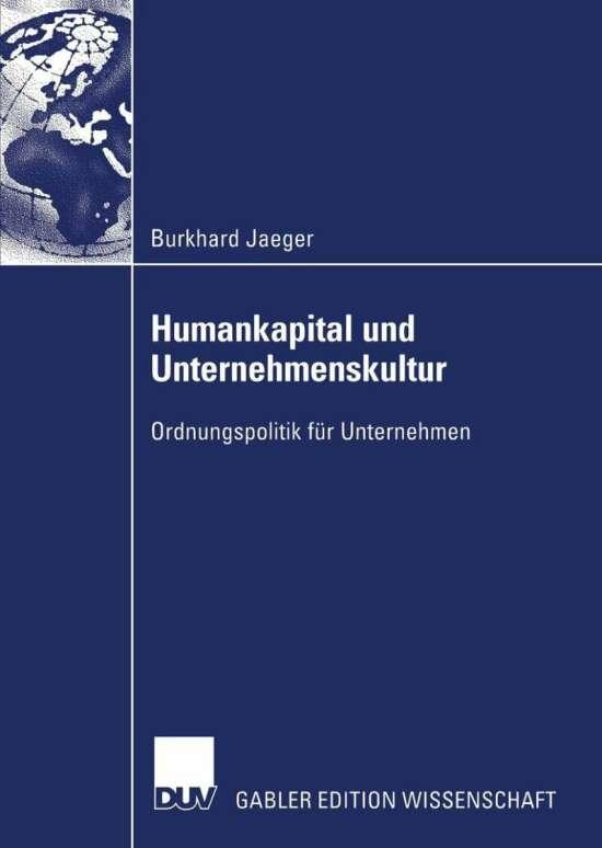 Humankapital und Unternehmenskultur