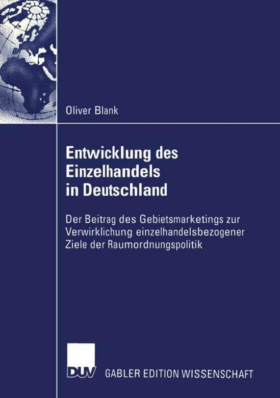 Entwicklung des Einzelhandels in Deutschland