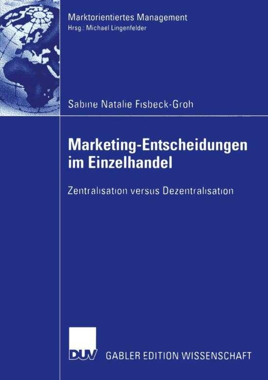 Marketing-Entscheidungen im Einzelhandel