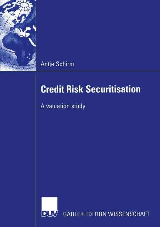 Credit Risk Securitisation