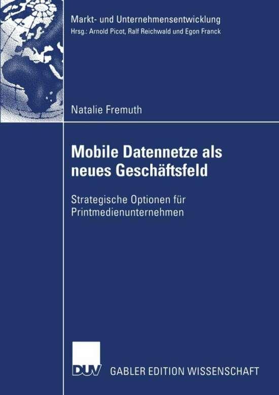 Mobile Datennetze als neues Geschäftsfeld