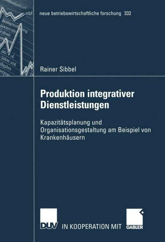 Produktion integrativer Dienstleistungen
