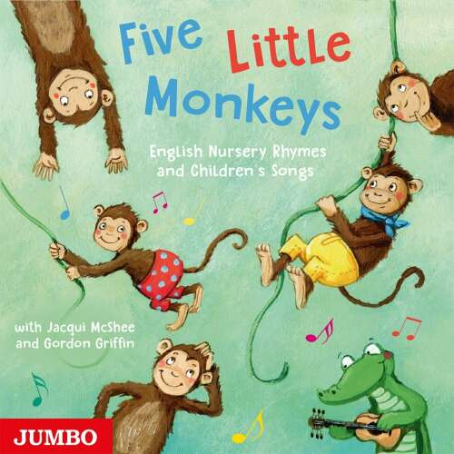 Five Little Monkeys. English Nursery Rhymes and Children´s Songs