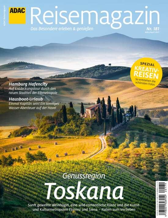 ADAC Reisemagazin Schwerpunkt Toskana
