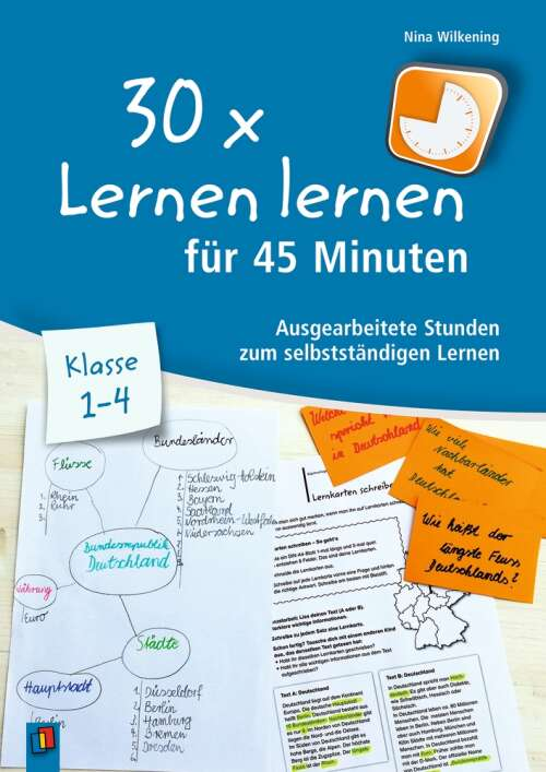 30 x Lernen lernen für 45 Minuten - Klasse 1–4