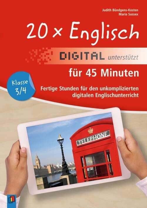20 x Englisch digital unterstützt für 45 Minuten – Klasse 3/4