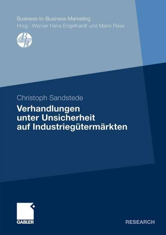 Verhandlungen unter Unsicherheit auf Industriegütermärkten