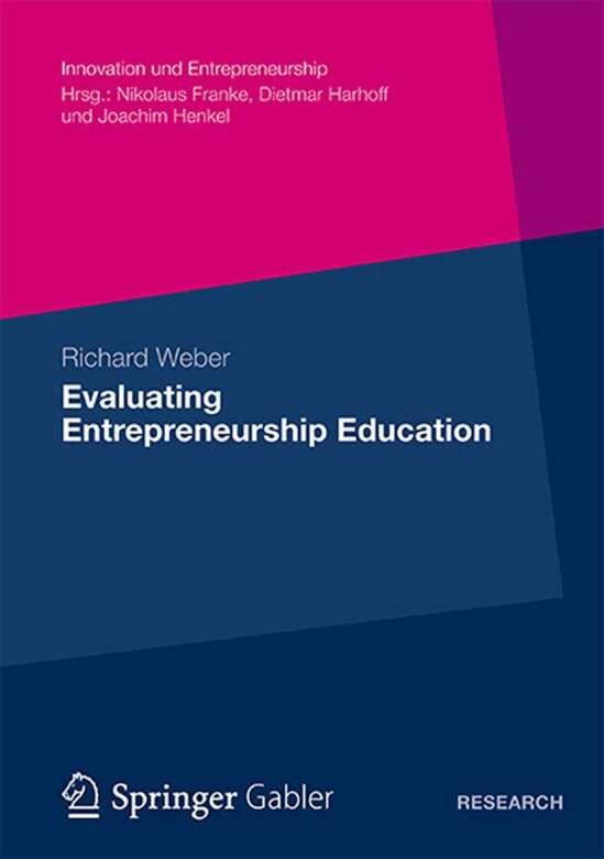 Evaluating Entrepreneurship Education