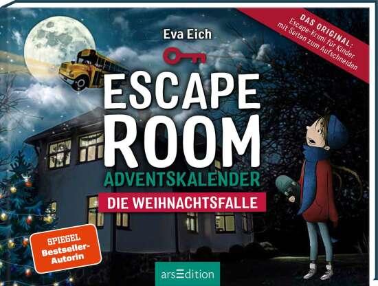Escape Room. Die Weihnachtsfalle. Ein Gamebuch-Adventskalender für Kinder