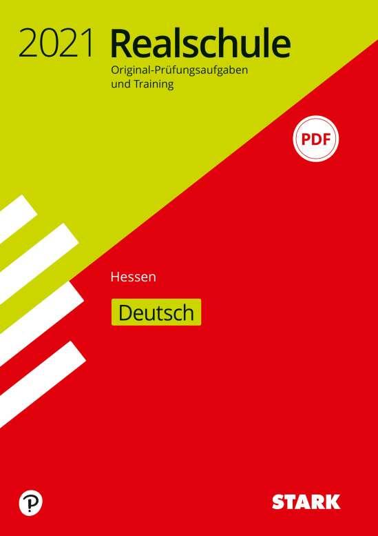 STARK Original-Prüfungen und Training Realschule 2021 - Deutsch - Hessen
