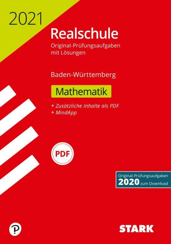STARK Original-Prüfungen Realschule 2021 - Mathematik - BaWü