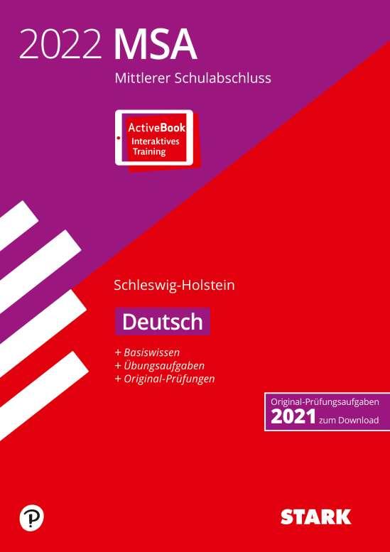 STARK Original-Prüfungen und Training MSA 2022 - Deutsch - Schleswig-Holstein