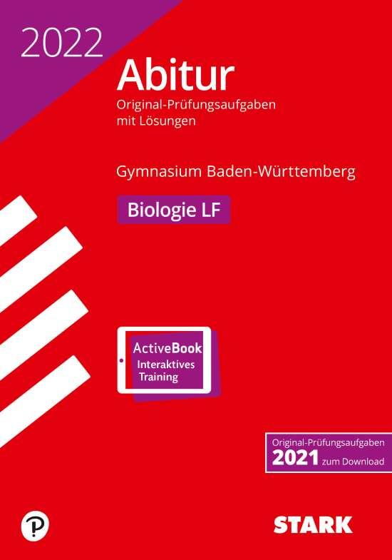 STARK Abiturprüfung BaWü 2022 - Biologie Leistungsfach