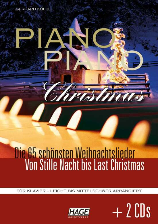 Piano Piano Christmas + 2 CDs