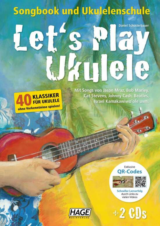 Let's Play Ukulele (mit 2 CDs)