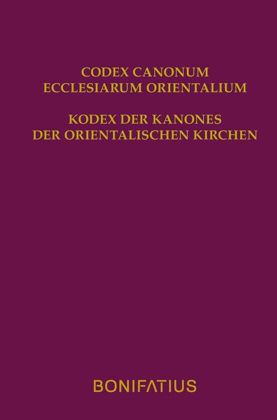 Codex Canonum Ecclesiarum Orientalium