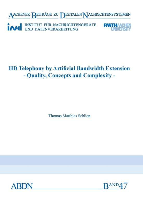 HD Telephony by Artificial Bandwidth Extension