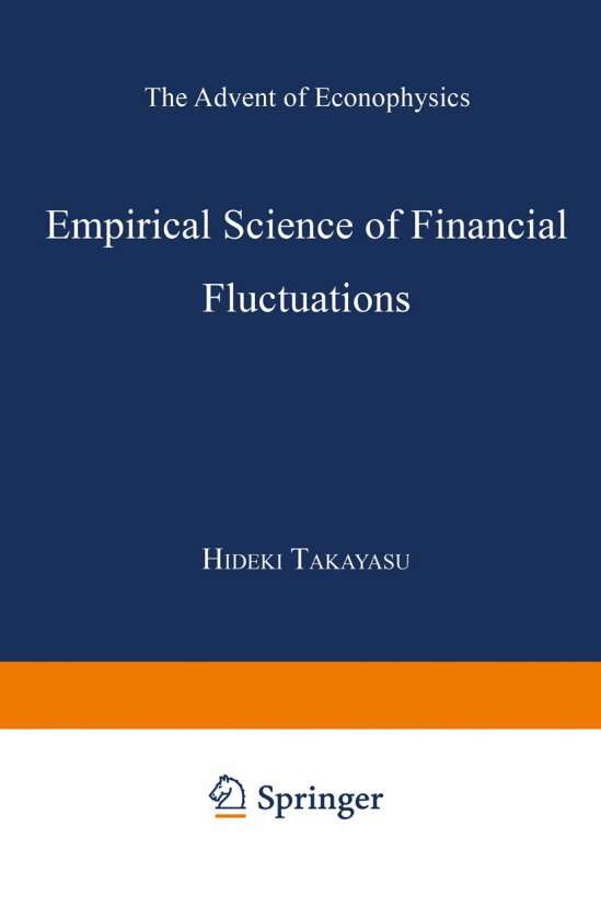 Empirical Science of Financial Fluctuations
