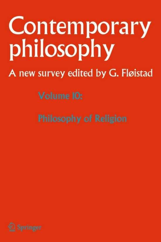 Volume 10: Philosophy of Religion