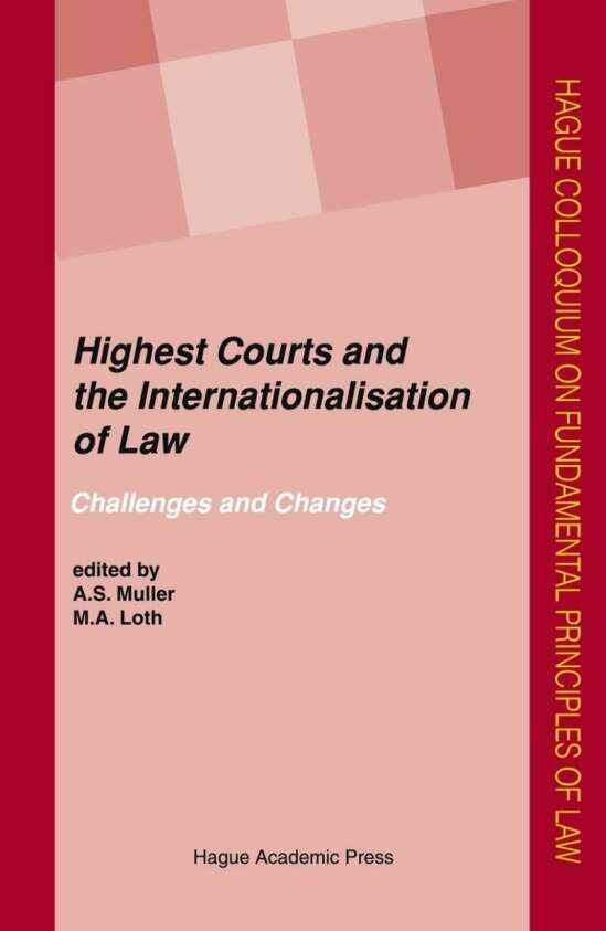 Highest Courts and the Internationalisation of Law