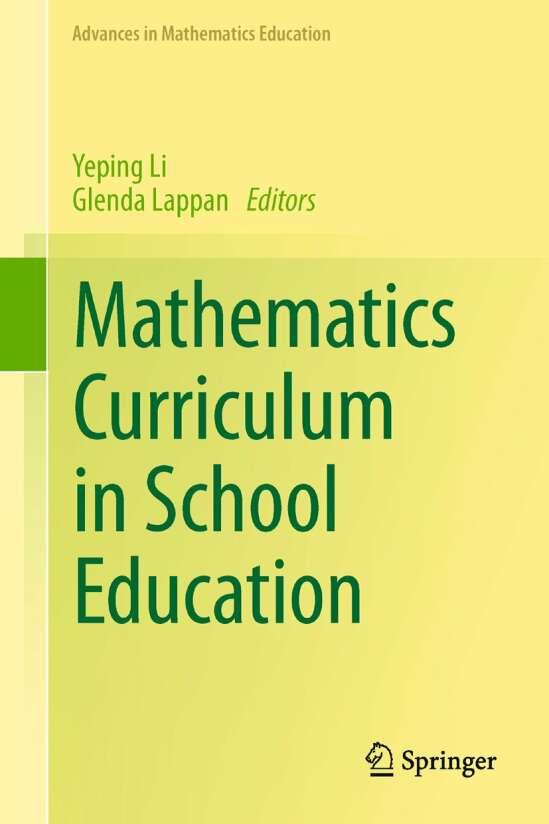 Mathematics Curriculum in School Education