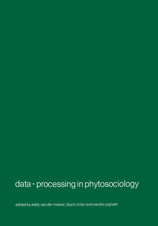 Data-processing in phytosociology