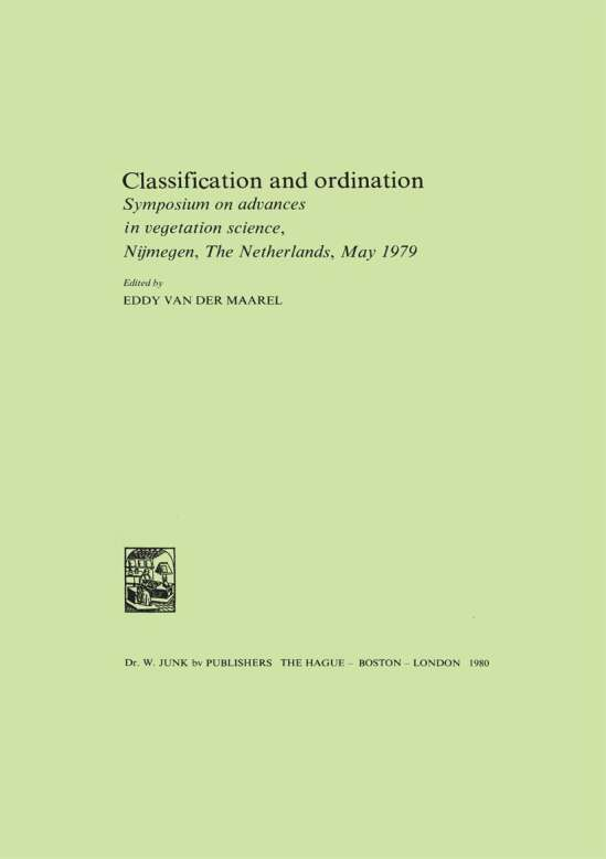 Classification and Ordination