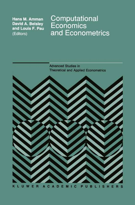 Computational Economics and Econometrics