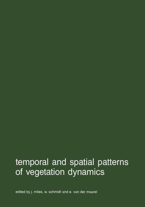 Temporal and spatial patterns of vegetation dynamics