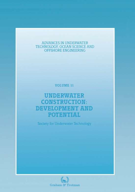 Underwater Construction: Development and Potential