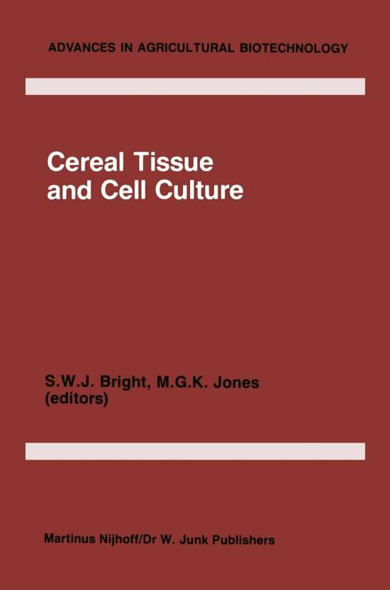 Cereal Tissue and Cell Culture