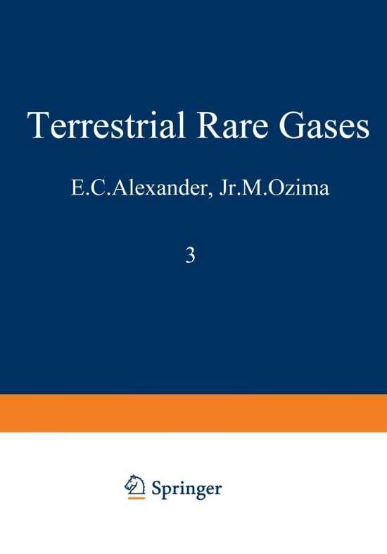 Terrestrial Rare Gases