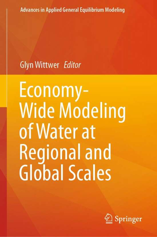 Economy-Wide Modeling of Water at Regional and Global Scales