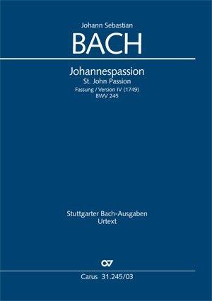 Johannes-Passion (Klavierauszug)
