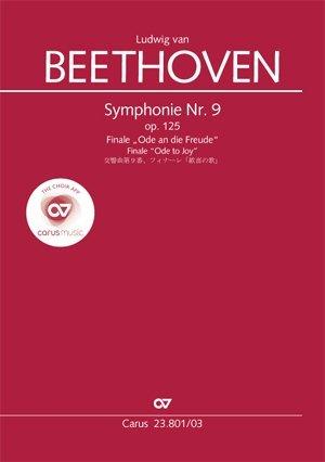 Symphonie Nr. 9. Finale (Klavierauszug zu allen gängigen Ausgaben)