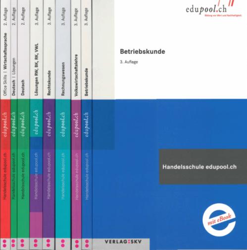 edupool - Handelsschule: Paket 1 (8 Bücher)